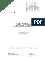 Harry Potter Script Pdf