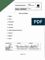 GSF-PR-530-005 Giros presupuestales