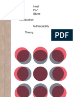 Hoel P.G., Port S.C., Stone C.J. Introduction to Probability Theory