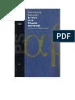 Gadamer, Hans Georg - El Inicio de la Filosofía Occidental