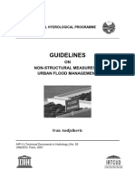 Guideline on Nonstructural Measures in Urban Flood Management