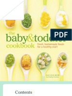 Baby Toddler Cookbook