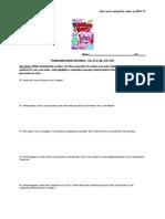 12 BL Frankenstein Study Questions Ch 19-21