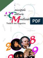 Office municipal de la culture de Montluel (OMCM) - saison 2008/2009