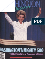 Washington Dossier January 1985