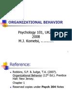 26549530 Organizational Behavior PPT