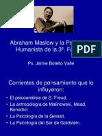 Abraham Maslow. Jaime Botello Valle.