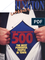 Washington Dossier January 1984