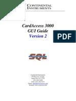 CA3000V2 Manual