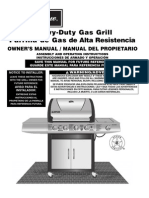 Charmglow 4 Burner Heavy-Duty Gas Grill 810-8530-S
