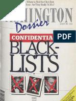 Washington Dossier August 1984