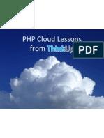 PHP Cloud + ThinkUp