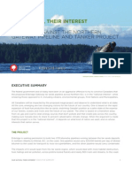 Northern Gateway Report Executive Summary