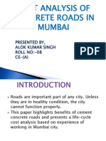 Alok Kumar Singh Cost Analysis