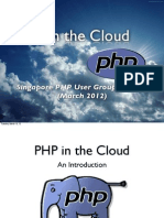 PHP in the Cloud