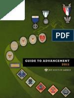 BSA Guide of Advancement 2011-33088