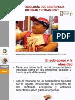 Epidemiologia Del Sobrepeso y Obesidad