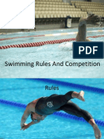 Swimming Rules and Competition