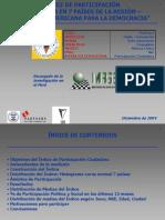 Indice de Participacion Ciudadana
