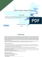 China Motor Vehicles Industry Profile Isic3410