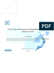 China Optical Instruments Photographic Equipment Industry Profile Isic3320