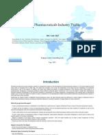 China Pharmaceuticals Industry Profile Isic2423