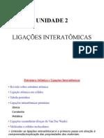 AULA 2_LIGAÇÕES INTERMOLECULARES_CTM [Modo de Compatibilidade]