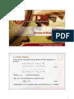 Chapter 2 Matrix Algebra