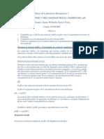 Diario de Laboratorio Bioquímica 1