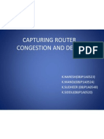 Capturing Router Congestion and Router