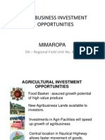 Agribusiness Investment Opportunities 2009 [Compatibility Mode]