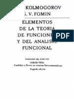 Kolmogorov Fomin. Elementos de La Teoria de Funciones y Del Analisis Funcional (MIR, 1975)(532