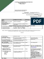 ILT Meeting Agenda 120314