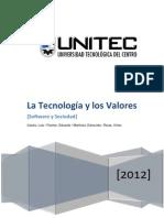 Ensayo - Tecnología y sus Valores