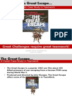 TEAMWROK.lessons From the Great Escape