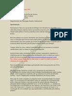 Diálogos Interdisciplinares 2012