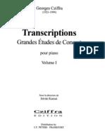 Cziffra - Transcriptions