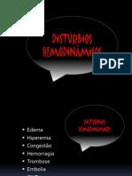 Distúrbios hemodinâmicos