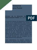 Dirección General de Regularización Predial