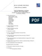 Patient Advocacy Committee Agenda 03-14-2012