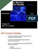 BJT Ac Analysis Boylestad