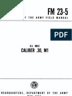 FM 23-05 (Garand)