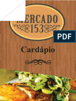 Cardapio Mercado  153 Belem