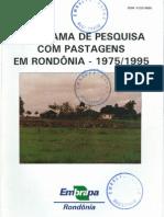 1948ca7a3 Pesquisa com Pastagens em Rondônia 1975/1995