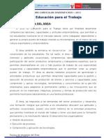 Divers_curricular_2011- Ed. Para El Trabajo