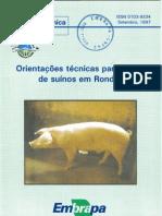Criação de Suínos em Rondônia