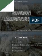 General Ida Des de Los Explosivos UM1