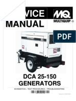 DCA25-150 Service Manual | Insulator (Electricity) | Electric Power