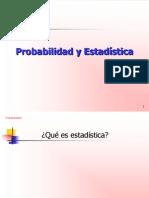 Probabilidad y Estadistica 3