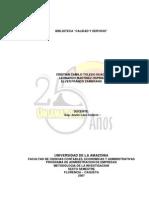 Investigacion Biblioteca Uniamazonia